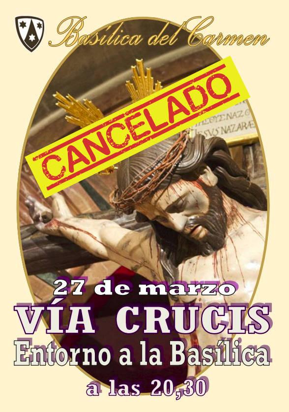Via Crucis: CANCELADO